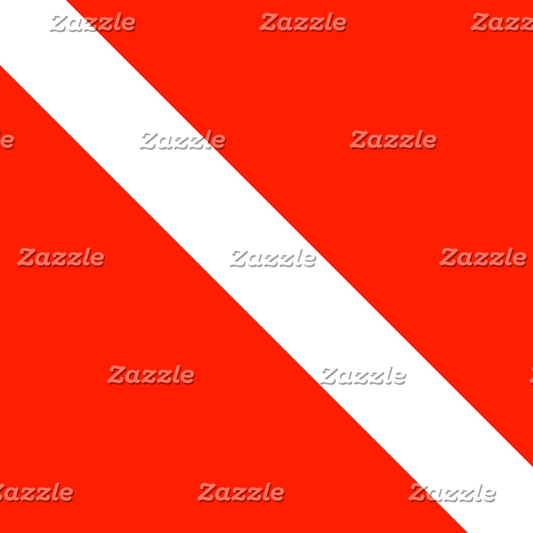 Clasic Scuba Diving Dive Flag Design