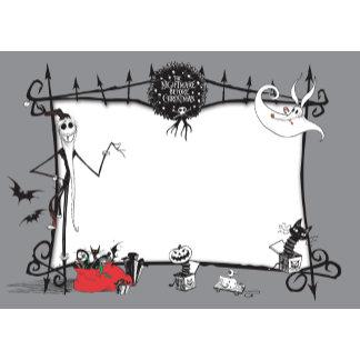 Nightmare Before Christmas Card