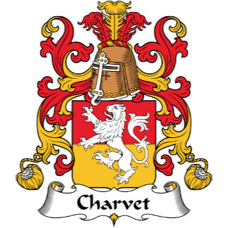 Charvet Family Crest