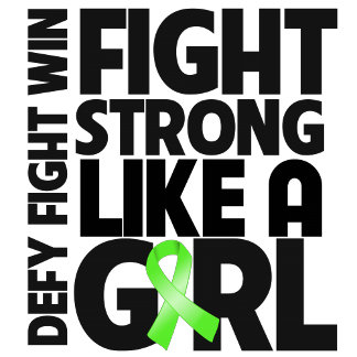 Lymphoma Fight Strong Like a Girl