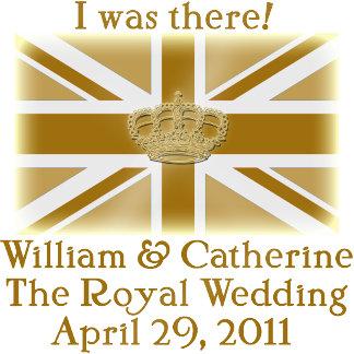 Elegant I WAS THERE Royal Wedding Tshirts