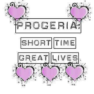 Progeria, purple hearts
