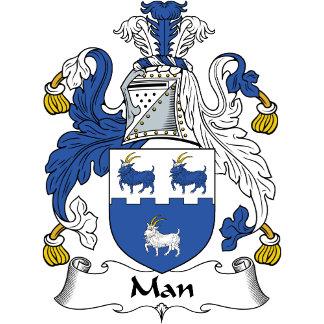 Man Family Crest