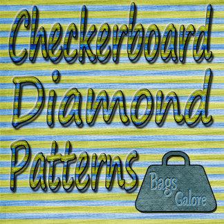 Checkerboard-Diamond Patterns
