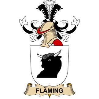 Fläming Family Crest