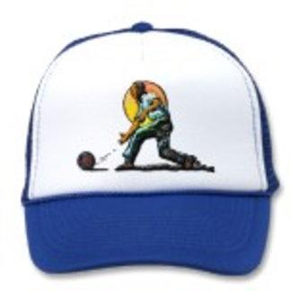 Caps Imprinted With Original Art Customizable