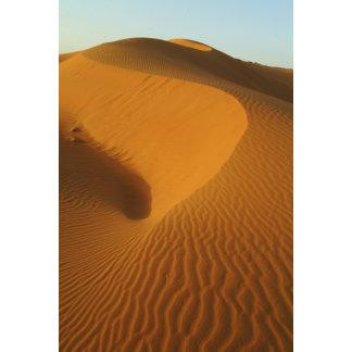 Sudan, North (Nubia), dunes in the desert
