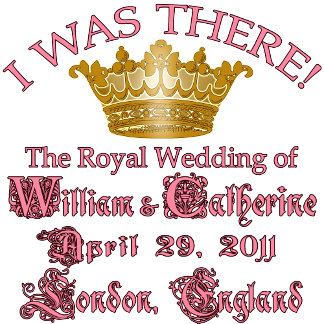 I Was There Royal Wedding Commemorative Tee