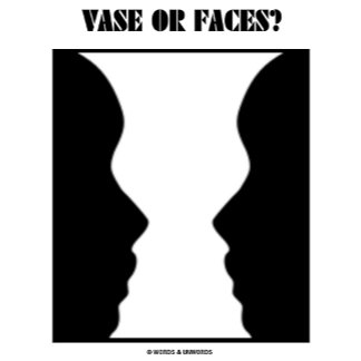 Vase Or Faces? (Optical Illusion)