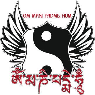 Winged Yin Yang Mantra