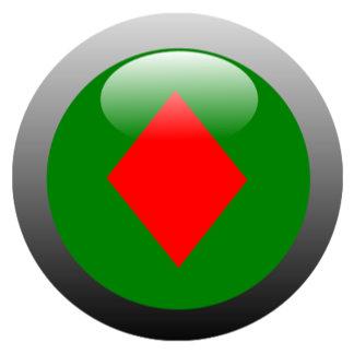 Poker Button - Diamond