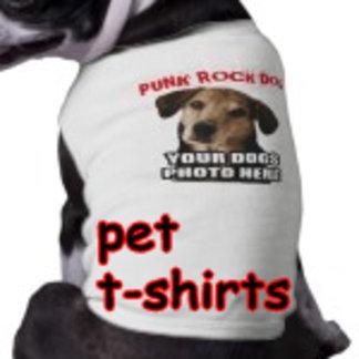 PET DOG t-shirts by DVD