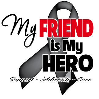 *Skin Cancer Hero Support Ribbon