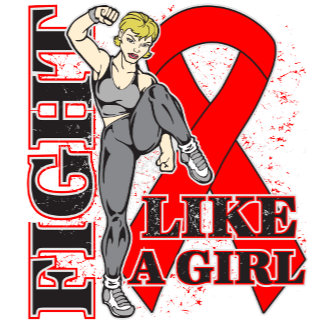 Blood Cancer Fight Like A Girl Kickin Butt