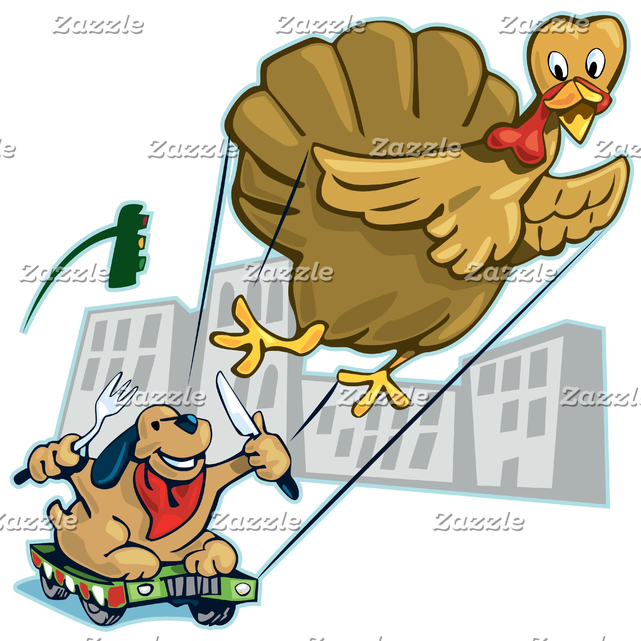 Floating Turkey Dinner
