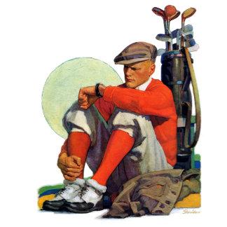 Golfer Kept Waiting