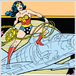 Wonder Woman with Jet