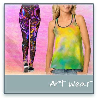 Abstract Art Wear