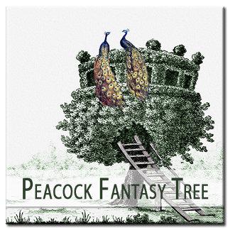 Peacock Fantasy Tree