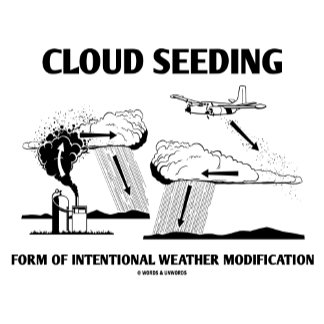 Cloud Seeding Intentional Weather Modification