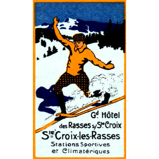 1920 St. Croix Winter Sports Poster