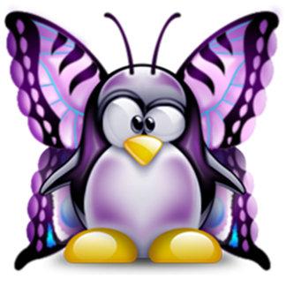 Purple Butterfly Tux