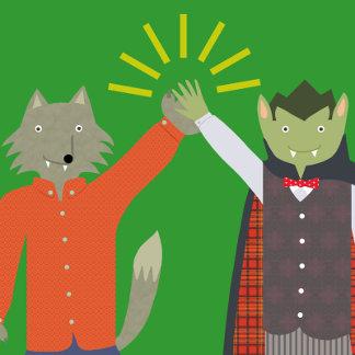 Vampire and Werewolf