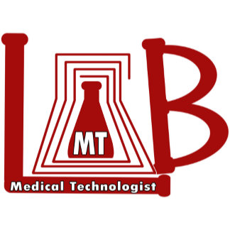LAB FLASK LOGO MT MEDICAL TECHNOLOGIST
