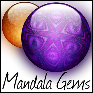 Glass - Jewel Mandalas