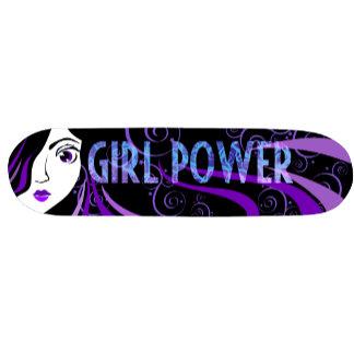 Girl Power Skateboards