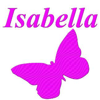 Isabella on Apparel and Gifts.