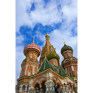 Russia, Moscow, Red Square, St. Basil's