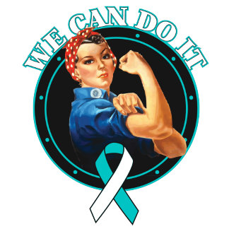 Cervical Cancer - Rosie The Riveter - We Can Do It