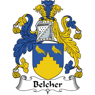 Belcher Family Crest / Coat of Arms