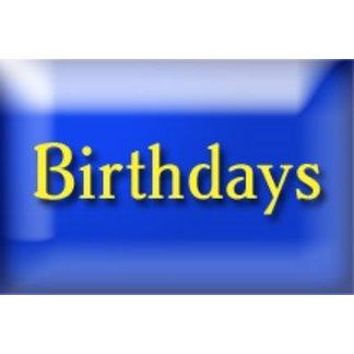 Birthdays/Celebrations