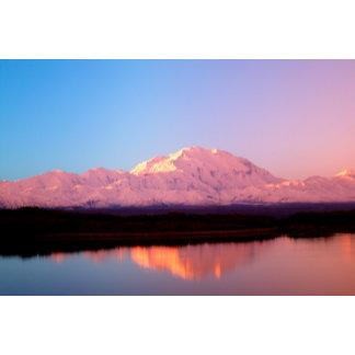 Alaska, Denali National Park, Mt. McKinley at