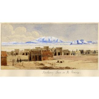 Railway Town on the Prairie
