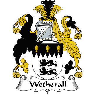 Wetherall Family Crest