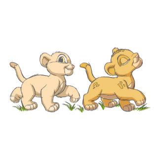 Lion King's Simba and Nala