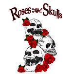 Roses and skulls T Shirt.jpg