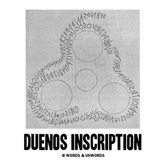 Duenos Inscription (Old Latin Inscription)
