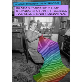 Mildred, The Gay Betsy Ross