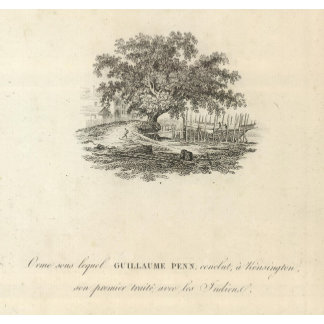 Form in which William Penn