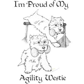 Agility Westie