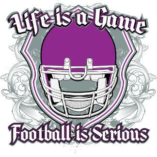Football Game Purple