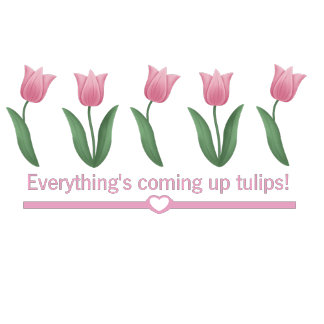 Coming Up Tulips