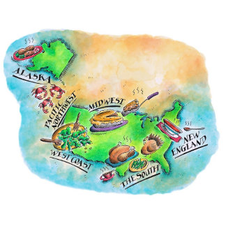Foods of the USA