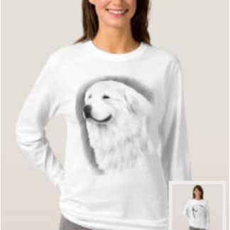 008 Great Pyrenees Womens T-shirts