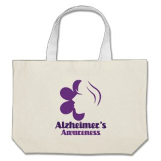 Alzheimers Tote Bags