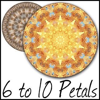 6 to 10 Petal Kaleidoscopic